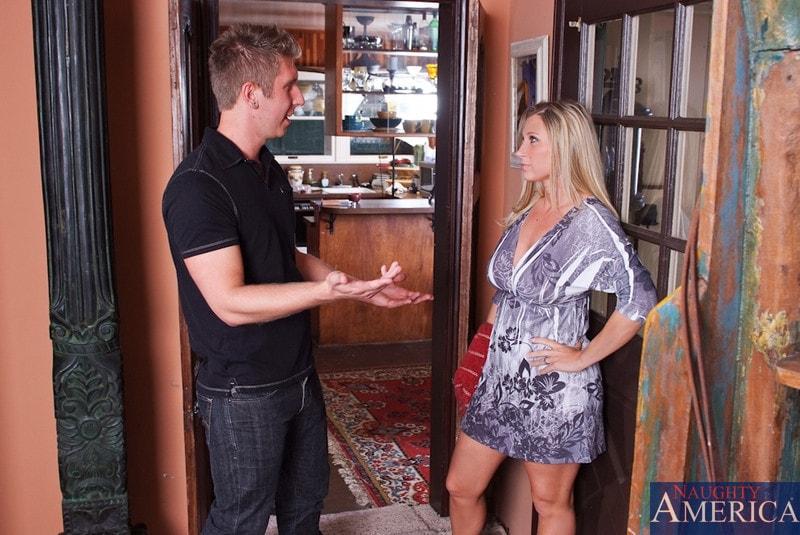 Naughty America 'and Danny Wylde in My Friends Hot Mom' starring Devon Lee (Photo 1)