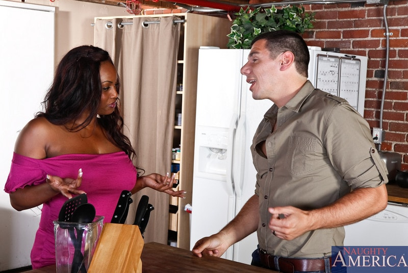 Naughty America 'and Denis Marti in I Have a Wife' starring Jada Fire (Photo 1)