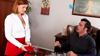 Sara Stone in 'and Billy Glide in Naughty Office'