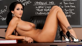 Ava Addams In 'and Seth Gamble in My First Sex Teacher'