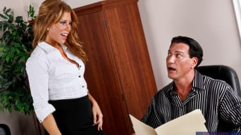 Brooklyn Lee in 'and Marco Banderas in Naughty Office'