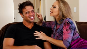 Dyanna Lauren in 'and Rocco Reed in Seduced by a cougar'
