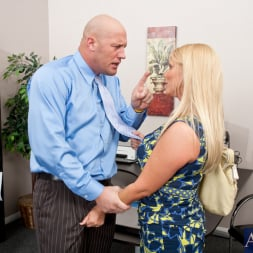 Karen Fisher in 'Naughty America' and Christian in Naughty Office (Thumbnail 1)