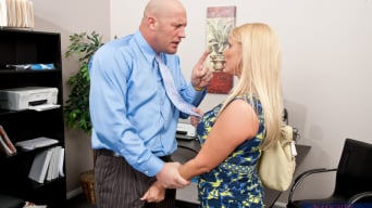 Karen Fisher in 'and Christian in Naughty Office'