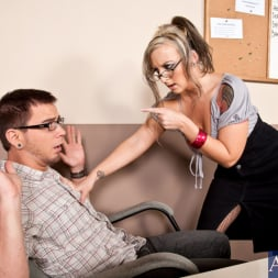 Shay Morgan in 'Naughty America' and Dane Cross in My First Sex Teacher (Thumbnail 1)