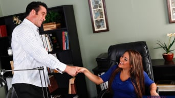 Penelope Piper In 'and Billy Glide in Naughty Office'