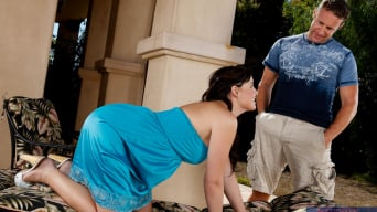 Brooke Lee Adams in 'and Jack Lawrence in Neighbor Affair'