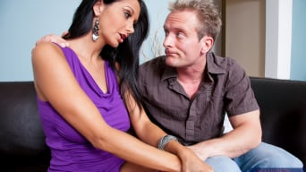 Ava Addams in 'and Clarke Kent in Neighbor Affair'
