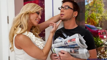 Amber Lynn in 'and Dane Cross in Seduced by a cougar'