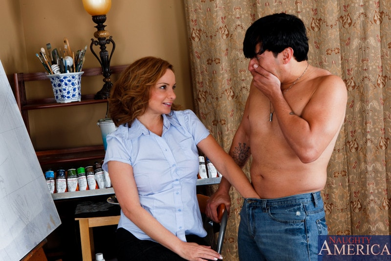 Naughty America 'and Anthony Rosano in My Friends Hot Mom' starring Rebecca Bardoux (Photo 2)