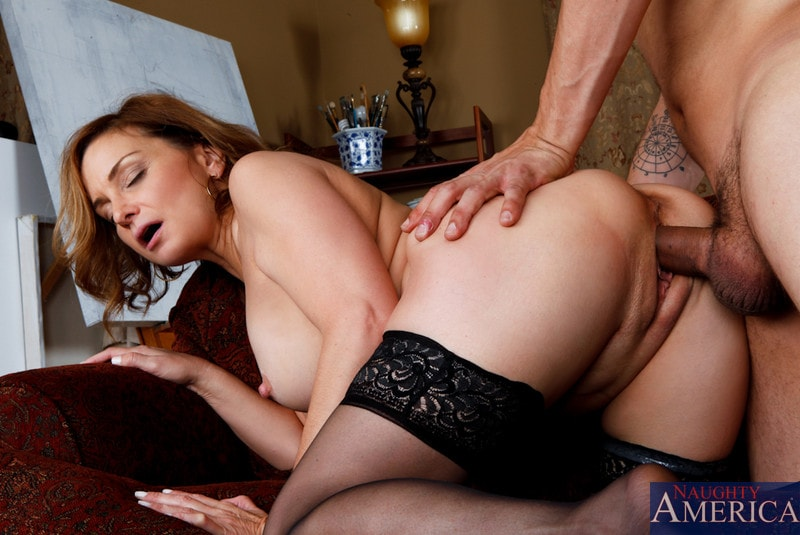 Naughty America 'and Anthony Rosano in My Friends Hot Mom' starring Rebecca Bardoux (Photo 11)