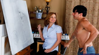 Rebecca Bardoux in 'and Anthony Rosano in My Friends Hot Mom'