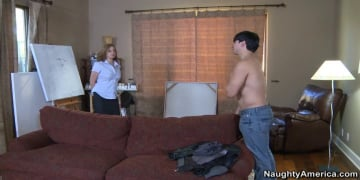Rebecca Bardoux and Anthony Rosano in My Friends Hot Mom