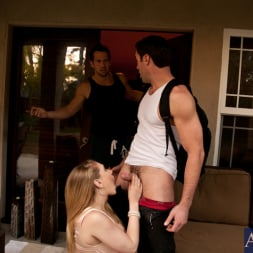 Kagney Linn Karter in 'Naughty America' Kagney Linn Karter, Johnny Castle and Charles Dera in My Dad's Hot Girlfriend (Thumbnail 2)