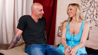 Julia Ann in 'and Barry Scott in Neighbor Affair'