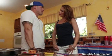 Inari Vachs and Derrick Pierce in My Friends Hot Mom