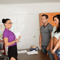 Jessica Jaymes in 'Naughty America' Jessica Jaymes, Tiffany Brookes and Johnny Castle in My First Sex Teacher (Thumbnail 3)
