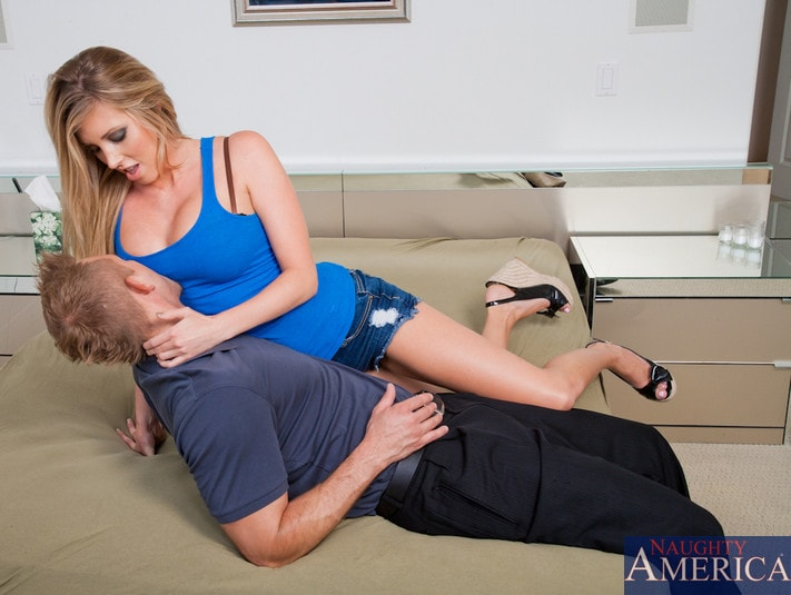 Samantha 38g Titty Fuck