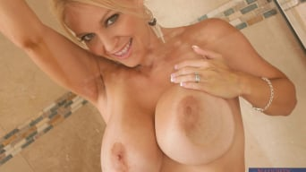 Charlee Chase in 'and Kris Slater in My Friends Hot Mom'
