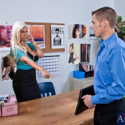 Bridgette B in 'Naughty America' Bridgette B. and Chris Johnson in Naughty Office (Thumbnail 3)