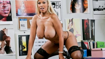 Bridgette B in 'Bridgette B. and Chris Johnson in Naughty Office'