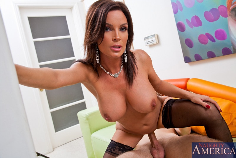 Naughty America 'and Danny Wylde in My Friends Hot Mom' starring Diamond Foxxx (Photo 10)
