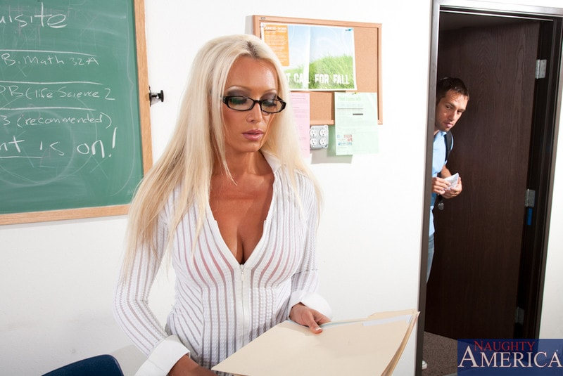 Naughty America 'and Johnny Castle in My First Sex Teacher' starring Diana Doll (Photo 2)