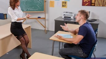 Veronica Avluv in 'and Danny Wylde in My First Sex Teacher'