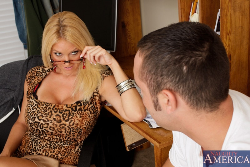Naughty America 'and Daniel Hunter in My First Sex Teacher' starring Charlee Chase (Photo 3)