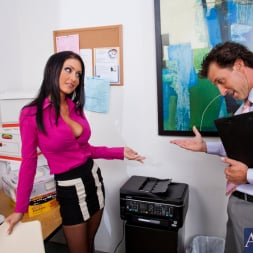 Jessica Jaymes in 'Naughty America' and Tony DeSergio in Naughty Office (Thumbnail 1)