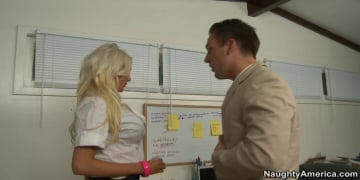 Holly Price and Brandon Fox in Naughty Office