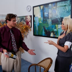 Katie Summers in 'Naughty America' and Justin Magnum in Naughty Office (Thumbnail 2)