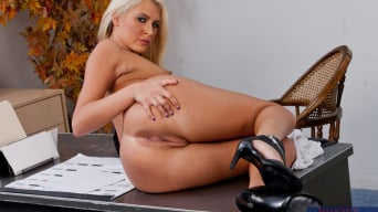 Katie Summers in 'and Justin Magnum in Naughty Office'