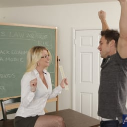 Anita Blue in 'Naughty America' and Johnny Castle in My First Sex Teacher (Thumbnail 2)