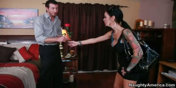 Angelina Valentine and Jordan Ash in Latin Adultery