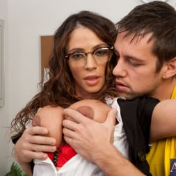 Ariella Ferrera in 'Naughty America' and Johnny Castle in My First Sex Teacher (Thumbnail 5)