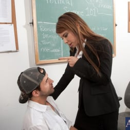 Jenla Moore in 'Naughty America' and Kris Slater in My First Sex Teacher (Thumbnail 2)