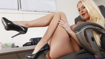 Riley Evans in 'and Billy Glide in Naughty Office'