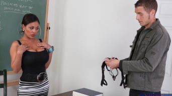 Priya Anjali Rai in 'and Chris Johnson in My First Sex Teacher'