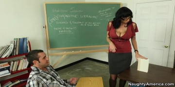 Alia Janine and Daniel Hunter in My First Sex Teacher