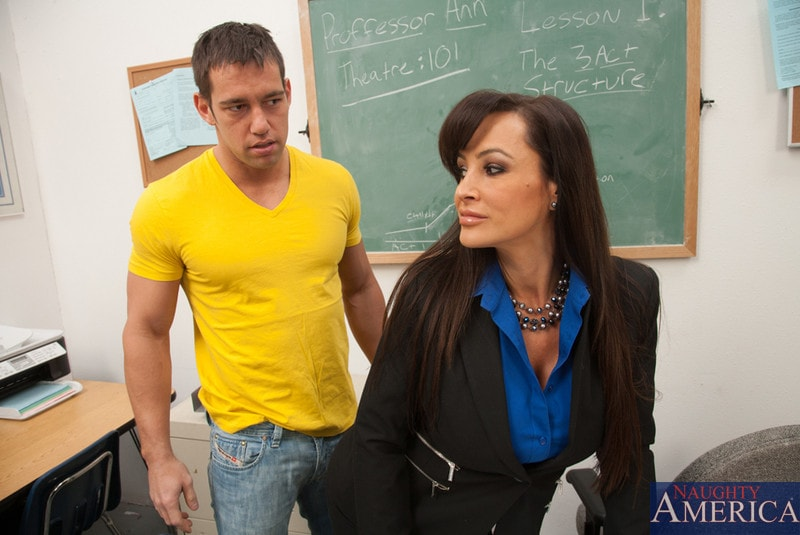 Naughty America 'and Johnny Castle in My First Sex Teacher' starring Lisa Ann (Photo 2)