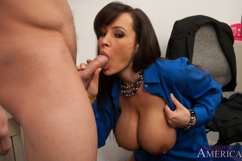 Naughty America 'and Johnny Castle in My First Sex Teacher' starring Lisa Ann (Photo 7)
