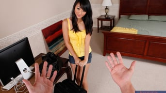 Evelyn Lin in 'and Will Powers in Housewife 1 on 1'
