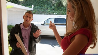Brandi Love in 'and Bill Bailey in Seduced by a cougar'