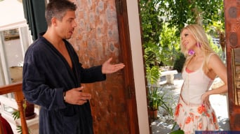 Ashley Fires in 'and Mick Blue in Neighbor Affair'