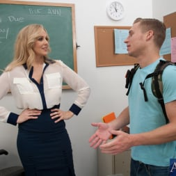 Julia Ann in 'Naughty America' and Michael Vegas in My First Sex Teacher (Thumbnail 1)