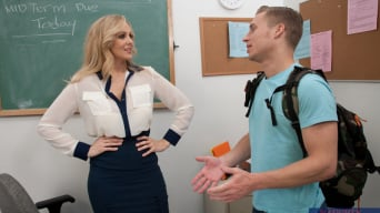 Julia Ann in 'and Michael Vegas in My First Sex Teacher'