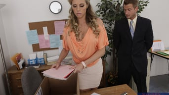 Samantha Saint in 'and Bill Bailey in Naughty Office'
