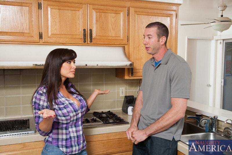 Naughty America 'and Jordan Ash in My Friends Hot Mom' starring Lisa Ann (Photo 2)
