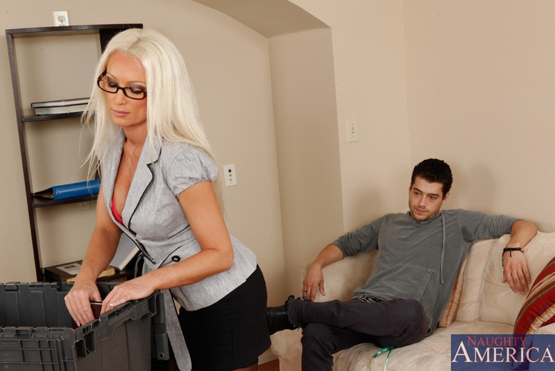 Naughty America 'and Xander Corvus in My First Sex Teacher' starring Diana Doll (Photo 1)